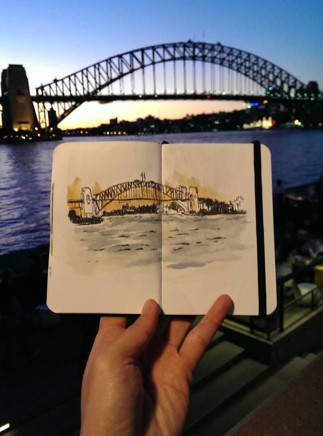 一个艺术家痴迷的绘画世界会让你看见不同的事情