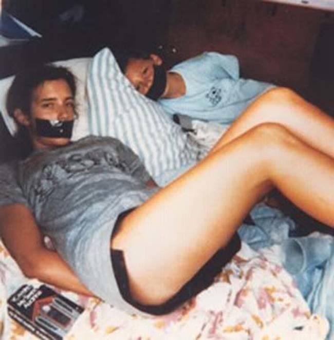 10个貌似正常的照片幕后一些可怕的事情-塔拉和迈克尔·亨利(1)