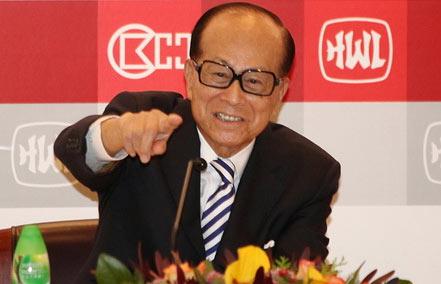 香港10大富豪排行 李嘉诚稳居榜首