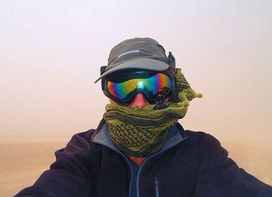 英24岁探险家独自徒步穿越蒙古国 最多一天走55公里-6