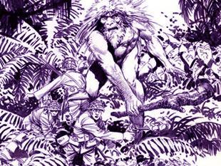 所罗门岛巨人 海怪袭击 二战时日本士兵遇到的未解之谜