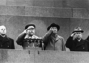 苏俄百年红场阅兵背后的秘密政斗