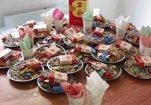 农村吃婚宴时的景象,你吃过吗?