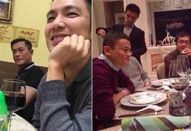 跟朋友吃饭,他来了:分享一组和明星吃饭的照片无水印 你懂的