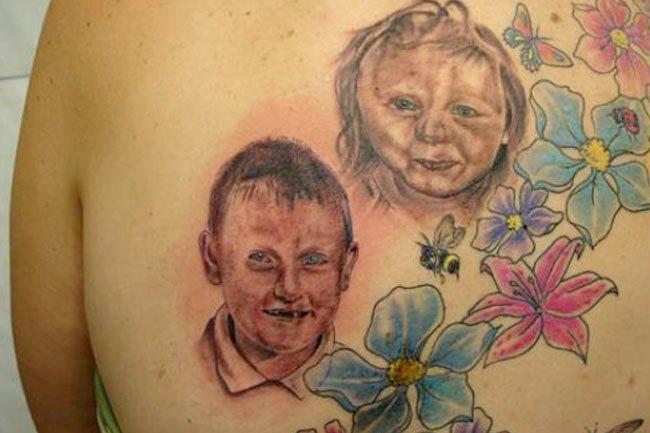 """17个值得""""称赞""""的纹身"""