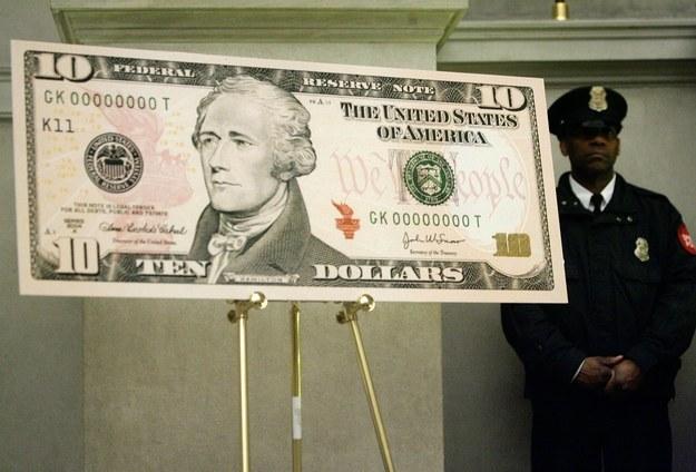 美国财政部:新版10美元将会加入一位女性