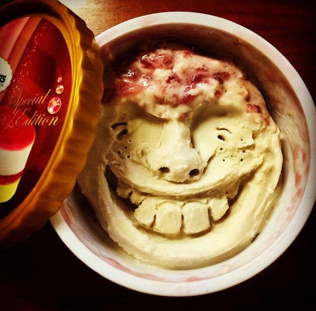夏天的冰淇淋融化了 但是这却是个好东西