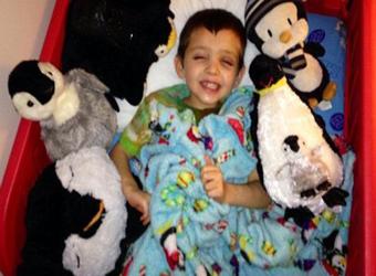 身患绝症的6岁男孩一个意外决定 让全世界泪奔