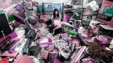 日本宅女的房间:这还是人住的吗?