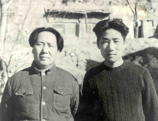 毛主席听说毛岸英牺牲 第一句话说的是什么?