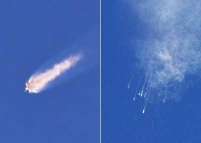 """""""猎鹰9号""""坠落 埃隆·马斯克的太空梦减速"""