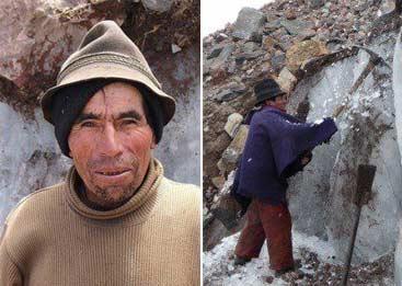 厄瓜多尔最后一位卖天然冰的商人