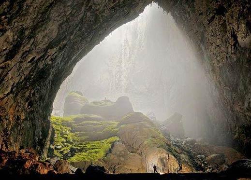 10个令人惊叹的地下溶洞 真实的盗墓实景?
