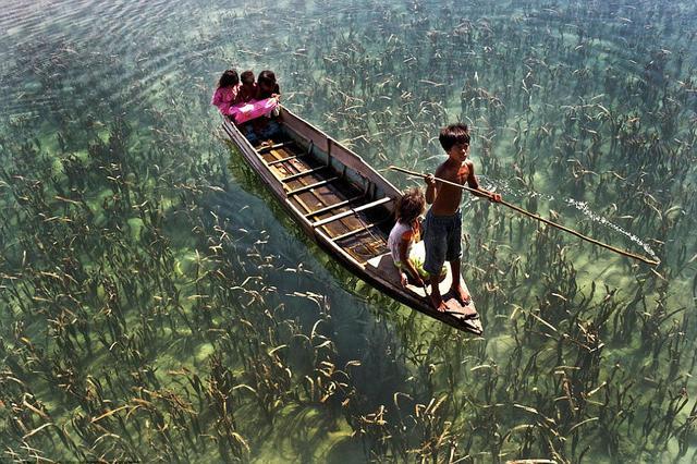最后一支海洋游牧民族 完全依靠海洋生存