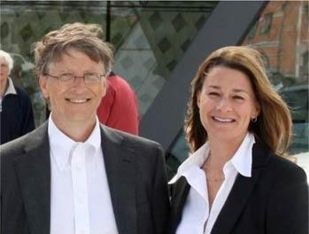 全球最富10对夫妻 盖茨夫妇居首王健林排第六