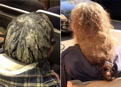 慎入:十年不洗头是什么样子
