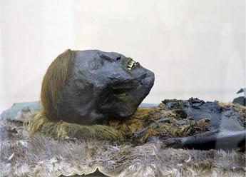 北极圈周边发现红色毛发干尸 距今800年保存完好