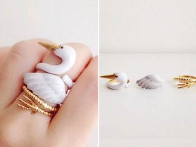 3拼可爱的戒指将让你的手指变得疯狂!