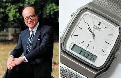李嘉诚、李彦宏、马云等富豪们都佩戴什么手表?