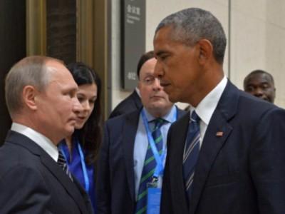 普金和奥巴马