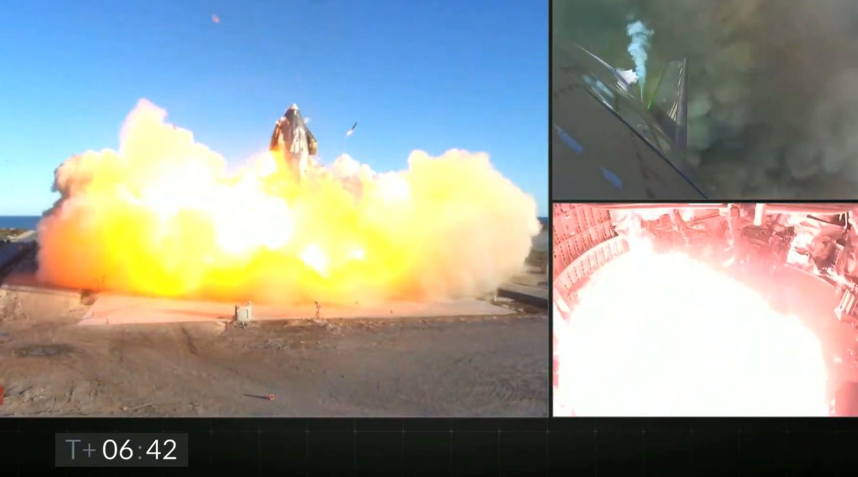 【视频】SpaceX星舰SN8试飞降落时爆炸 马斯克却说成功了