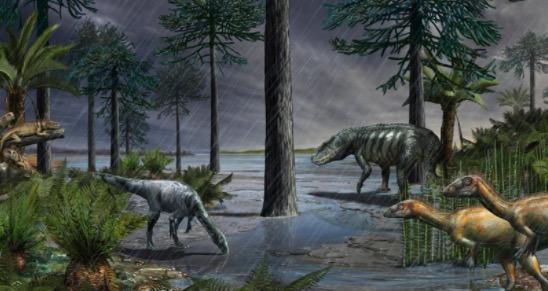 2.3亿年前地球下了一场200万年的雨 把恐龙送上王之宝座