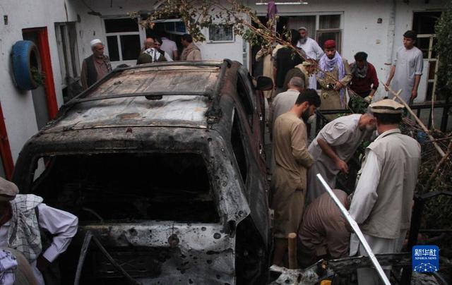 【现场图】喀布尔机场附近遭火箭弹袭击 美军空袭喀布尔致一家9人丧生