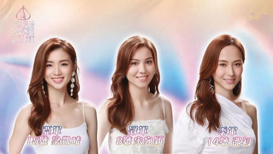 TVB 2021香港小姐出炉 宋宛颖获冠军