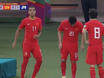 世预赛国足0-1日本遭两连败 踢越南必须要赢