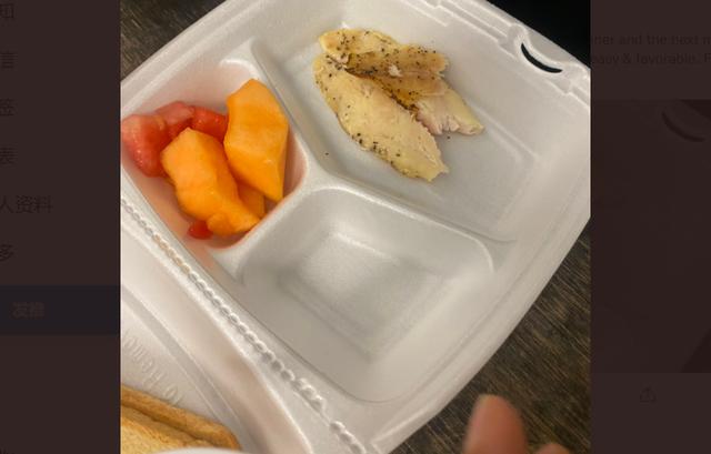 阿富汗难民晒在美军基地伙食 疑似抱怨美军食物配给不足